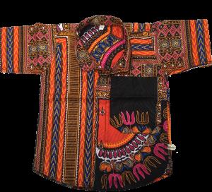 Dashiki kinderoverhemd maat 104